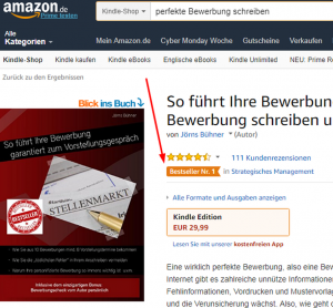 perfekte Bewerbung Amazon Bestseller